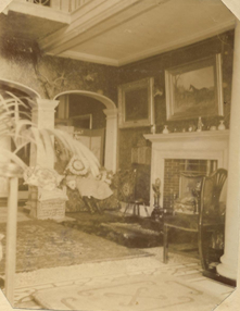 inside aston hall 1905