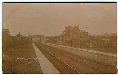 Dinnington railway station