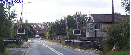 Rotherham Road level crossings