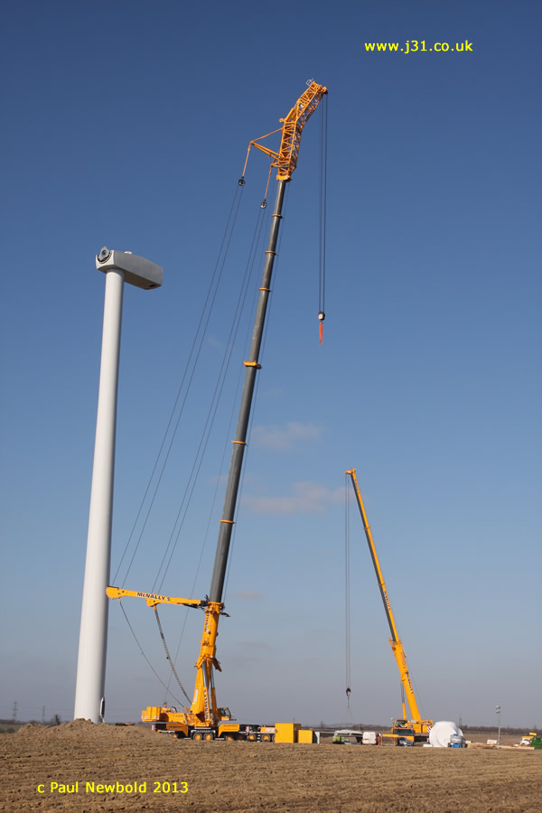 wind turbine constructed