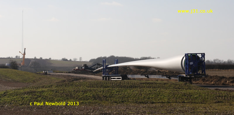 5 mw wind turbine blade