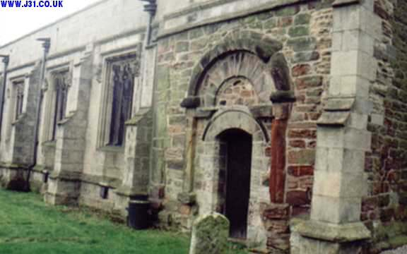 saxon doorway laughton