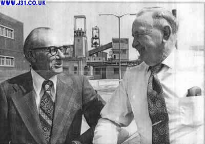 Billy Mellors, Right; Edwin Creasy. 1968