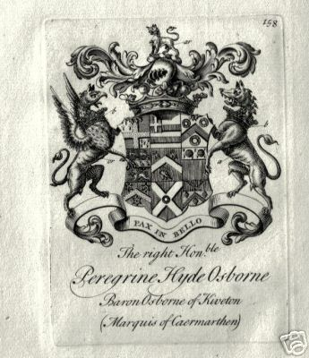 3rd duke of leeds coat of arms
