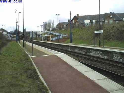 kiveton bridge railway station