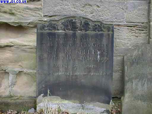 gravestone richard ashby