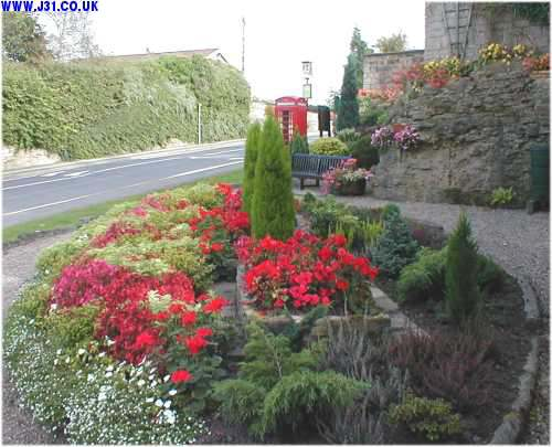 thorpe in bloom floral display